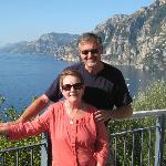 Gianluca took this shot of us on the Amalfi Coast