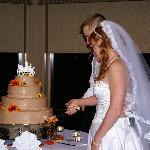 Cutting of the cake provided by the Hotel.