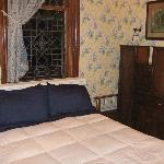 "Bed in ""Wisteria Gardens"" Room"