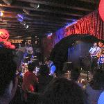 the band in the smaller bar