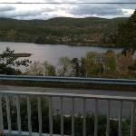 view of the Connecticut river from the front porch.