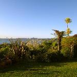 Lake view from villa
