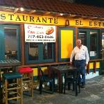 Gerardo, the owner, welcomes you!