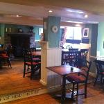 Tudor room at the hest bank inn