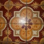 Floor tile of our bathroom