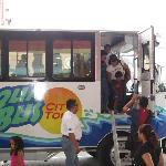 El bus - Terminando el tour