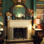 Drayton Library/In-room fireplace
