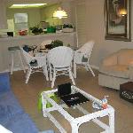 Living room/dinning room area