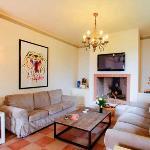 Villa Uliveta's TV Room