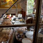 Morning breakfast bar