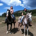 horse back riding at lodge