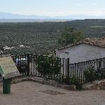 View of the valley below Baños de Encina