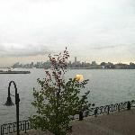 View across the Hudson from hotel room