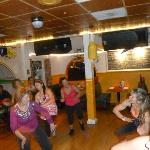 Zumba birthday party in Tacho's Cantina!