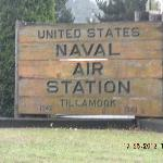 Naval Air Station sign