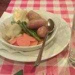 potatoes and veg