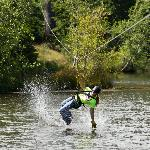 Maple Zip Line: Splashing Optional!