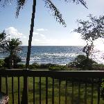Daytime view taken from our lanai - Room 225