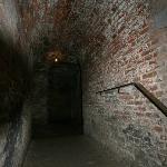 Walking inside the Fort Napoleon