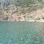 Isola di Romvi, di fronte a Tolo, raggiungibile in pedalo