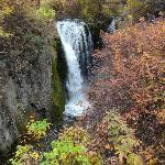 Upper Roughlock Falls in Autumn splendour