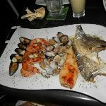 Sea food platter...yum!!