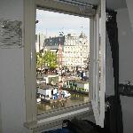 view from loft window
