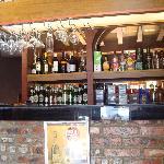 small cozy bar