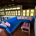 Quiet Corner of Veranda at French House, Sugar Reef