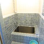 洗い場有なお風呂(写真撮った背中にシャワーがあります)