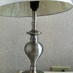 Lámpara de noche oxidada.