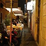 Hostaria Rasella Outside Dining