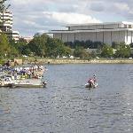 River area and John Kennedy Performing Arts Centre