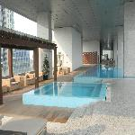Club lounge jacuzzi & pool (22nd floor)