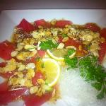 almond carpaccio