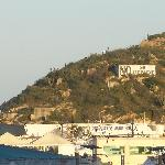 famous hill...over marina