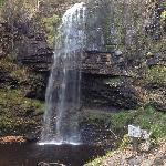 Penycae waterfall