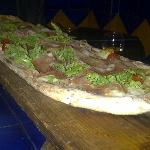 Tough doughy piizza