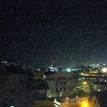 窓外の夜景