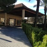 front of the holiday village viva in Majorca