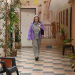 Bosettie Apart Hotel: hallway between rooms