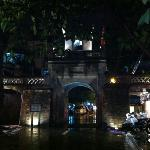 Hanoi old city gate by sims
