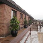 Balkon/Terrasse im obersten Stockwerk