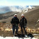 Tongariro Alpine Crossing - back side