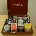 Breakfast tea selection
