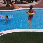 enjoying the Mai Tai pool!