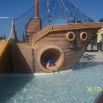 The Pirate Ship in the Splashpool