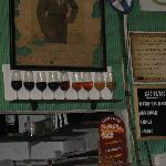 Choose your sherry - all available on draught