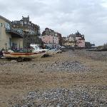 rocket house cafe overlooking Cromer beach