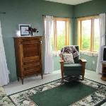 Vineyard suite - sitting area